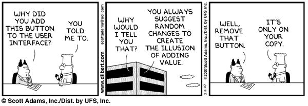 Dilbert versiones anteriores