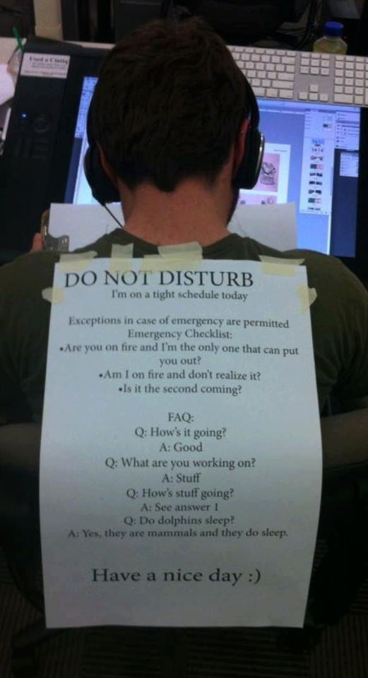 do-not-disturb-the-developer