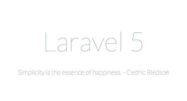 laravel_5_simplicity
